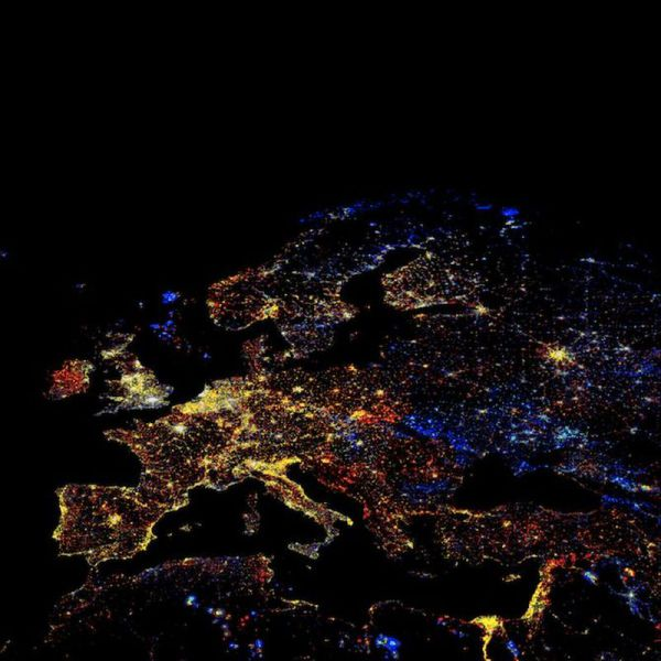 ヨーロッパの夜景