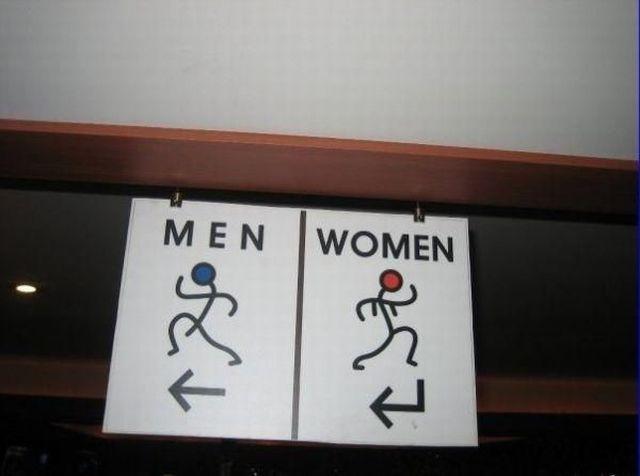 トイレ標識
