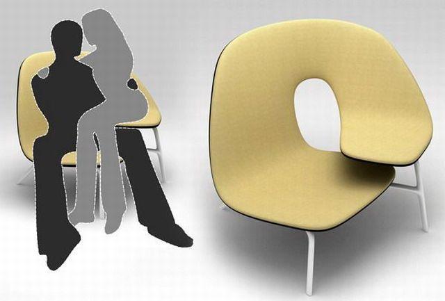 イチャイチャ椅子