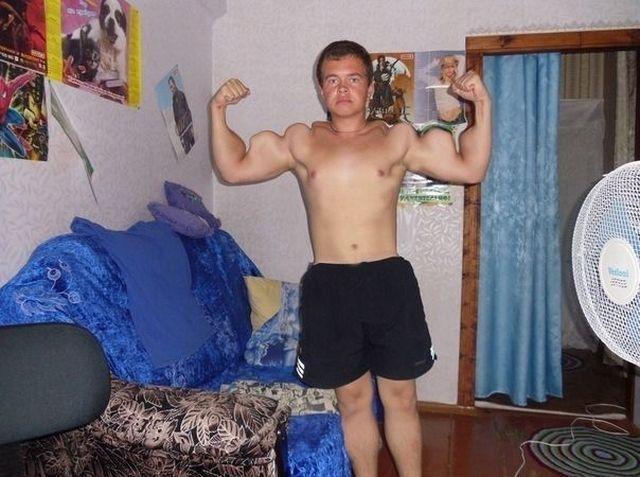 変な筋肉のつき方