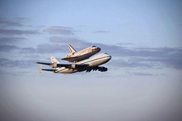 スペースシャトル運搬
