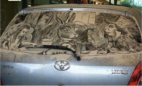 汚車アート