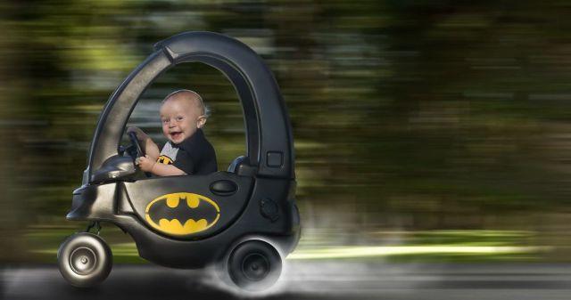バットマン満喫中