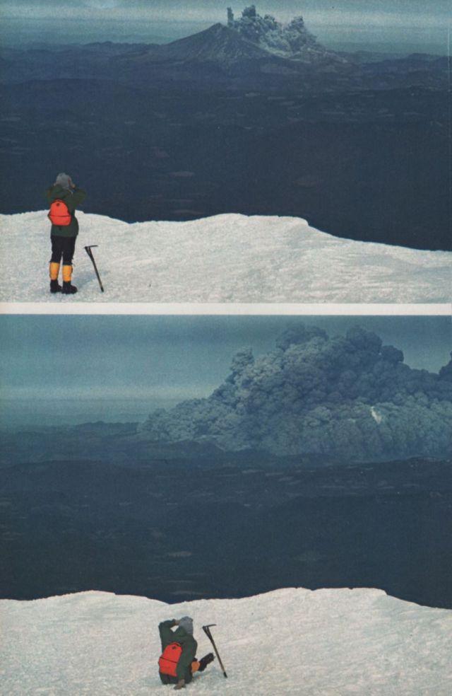噴火の瞬間